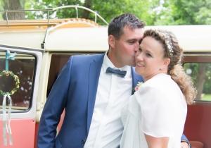 Falkenberg/Elster, Hochzeit, VW-Bulli