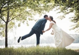 Hochzeit, Falkenberg/Elster Kiebitz, See