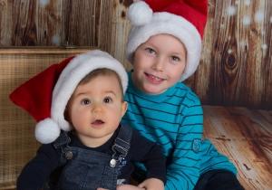 Weihnachtsmannmütze, Kinder